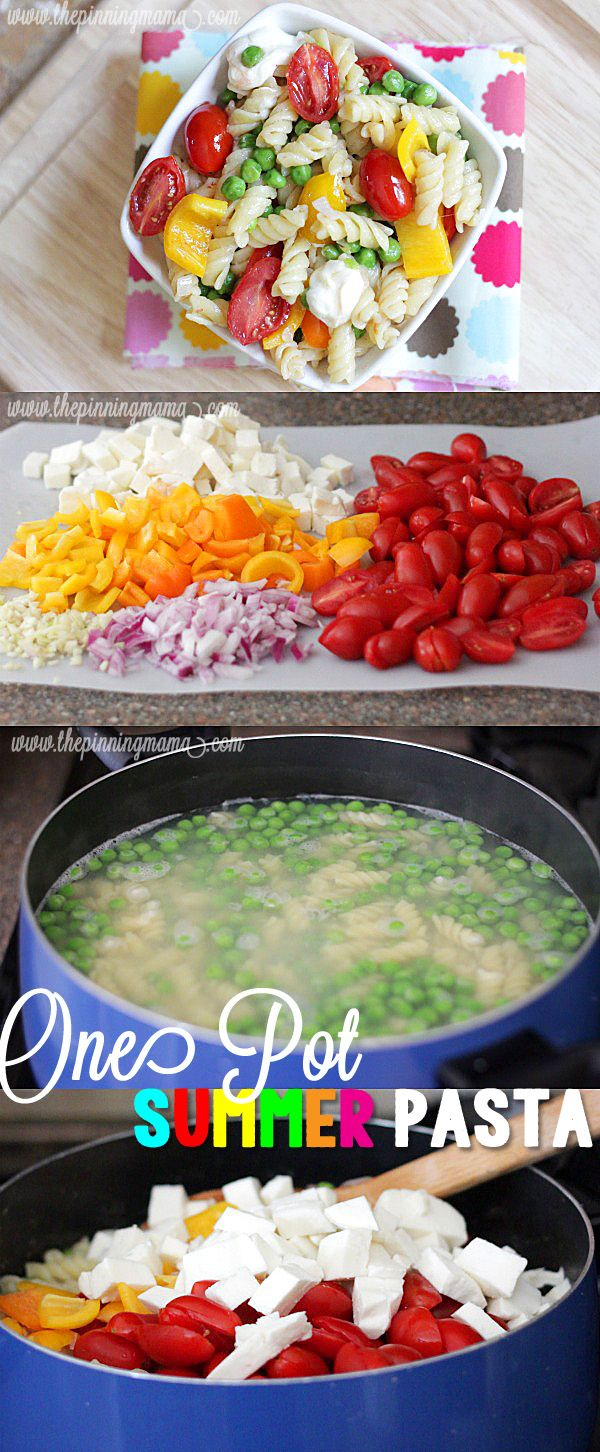 Best 25+ Summer pasta recipes ideas on Pinterest | Veggie recipes ...