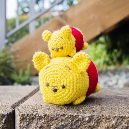 Free crochet patterns for both these little cuties!