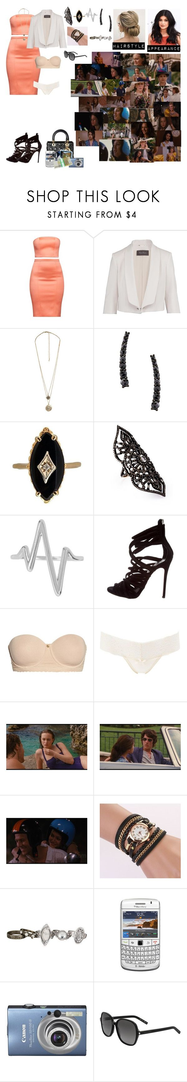 """""""Grace and Lizzie go to the Marchand Charity Polo Match"""" by andyarana ❤ liked on Polyvore featuring MaxMara, Forever 21, Alinka, Amrapali, Sterling Forever, Giuseppe Zanotti, Natori, Charlotte Russe, Monte Carlo and maurices"""