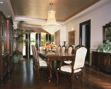 Dining Room Tray Ceiling Design Ideas, Pictures, Remodel and Decor