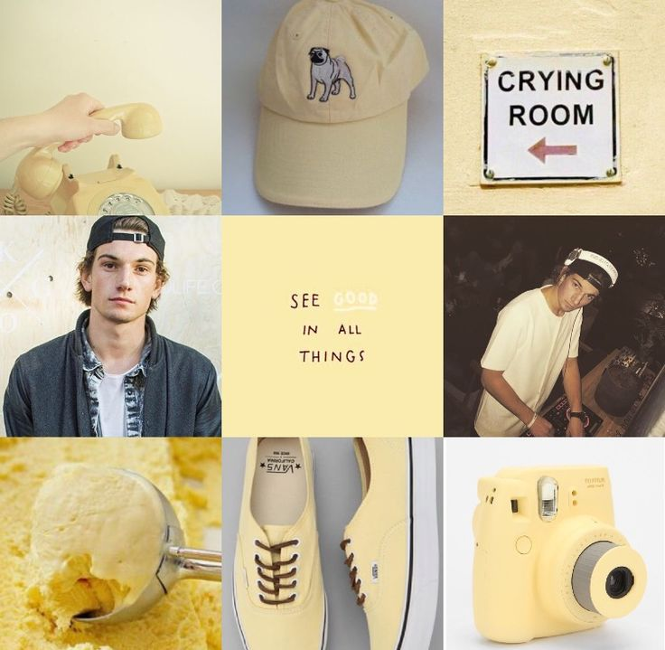Skam | William | Pastel Yellow