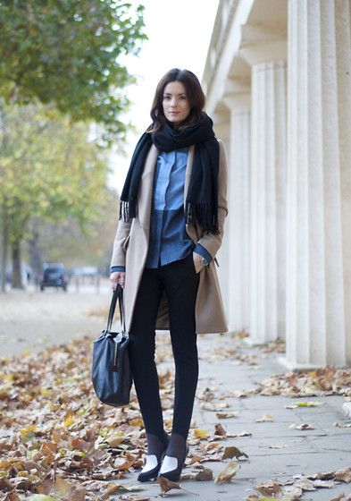 Wrapped up (by Hedvig ...) http://lookbook.nu/look/2730035-Wrapped-up: Street Style, Blue Blooded, Denim Shirts, Blue Shirts, Style Pinboard, Fall Winter, Fashion Designers, Bellissimo Style