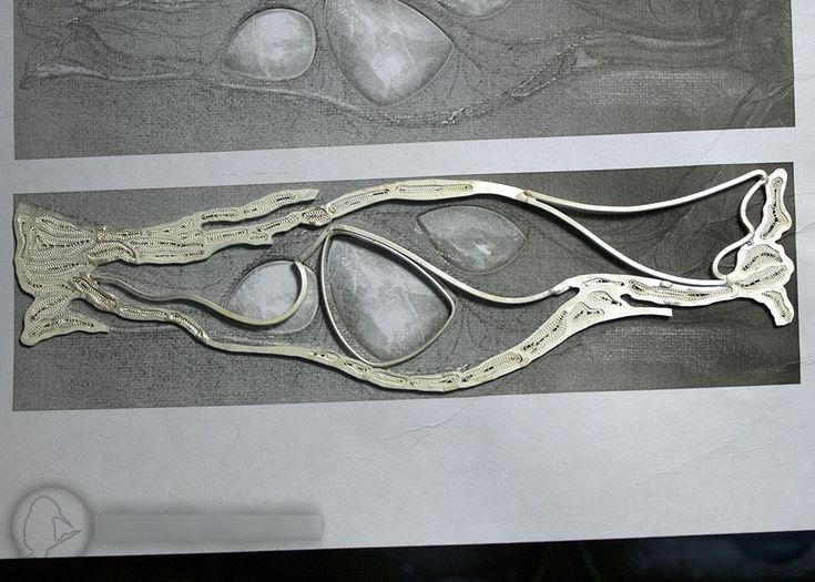Создание филигранного серебряного браслета «Три имени зимы». Часть вторая - Ярмарка Мастеров - ручная работа, handmade
