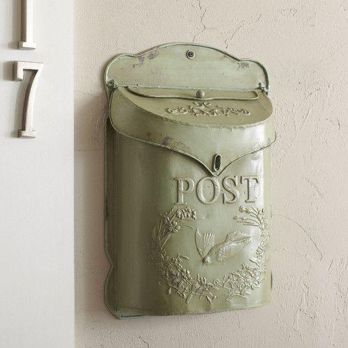 Found it at Wayfair - Wall Mounted Mailbox