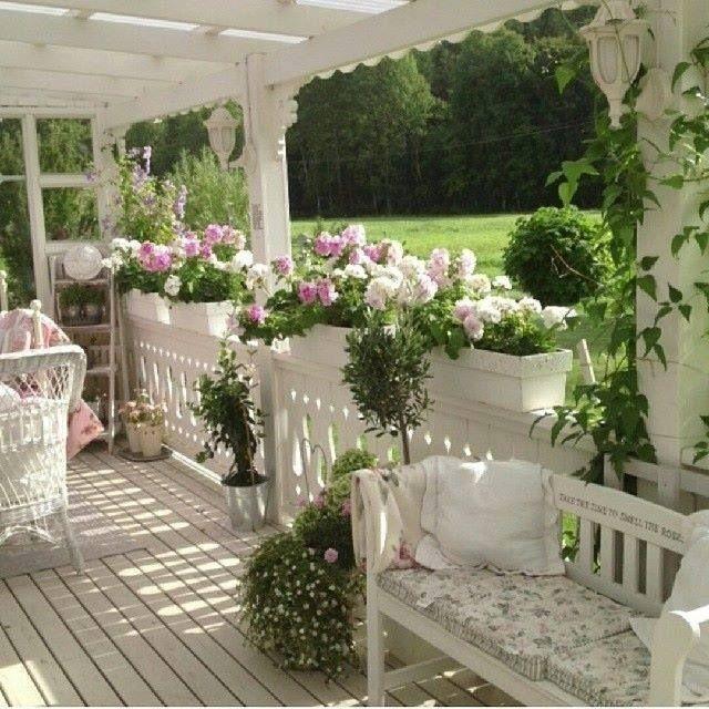 1000 idee su arredamento veranda stile country su for Casa in stile ranch con veranda