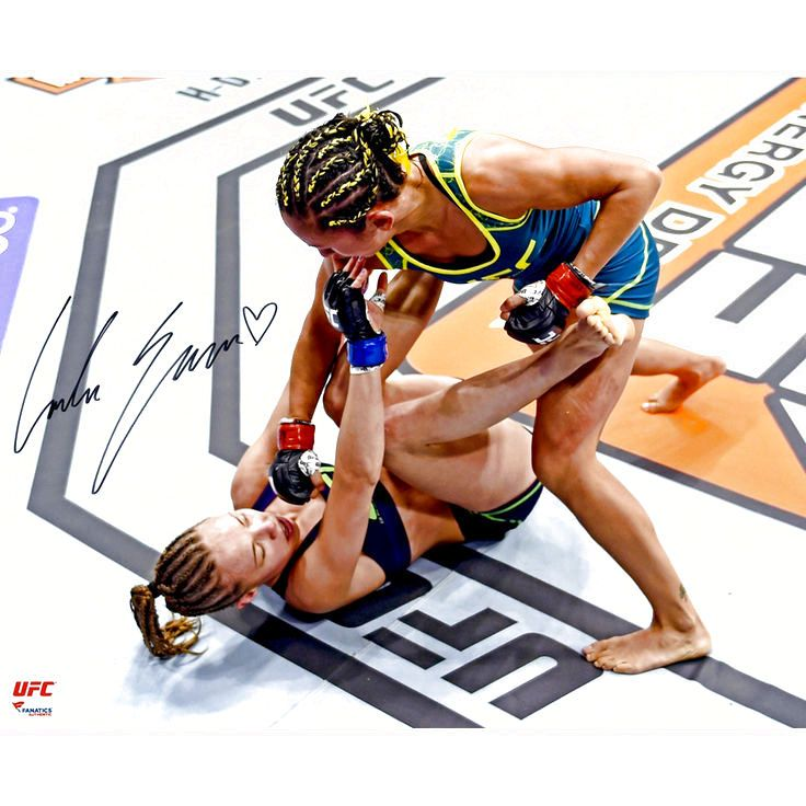 Carla Esparza Ultimate Fighting Championship Fanatics Authentic Autographed 16'' x 20'' Punching Down Photograph - $39.99