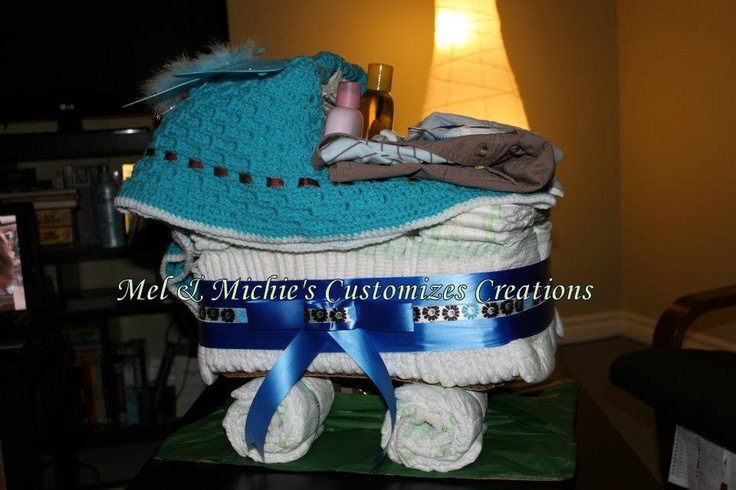 Large Diaper Carriage