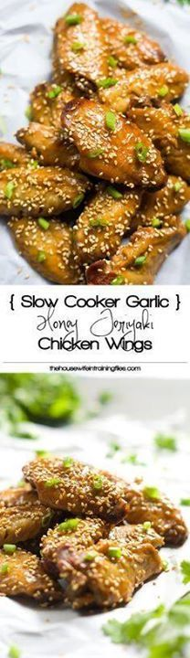 Slow Cooker Honey Te Slow Cooker Honey Teriyaki Chicken Wings |...  Slow Cooker Honey Te Slow Cooker Honey Teriyaki Chicken Wings | Easy Crock Pot Healthy Spicy Garlic Recipe Simple Paleo Low Carb Super Bowl Recipe : http://ift.tt/1hGiZgA And @ItsNutella  http://ift.tt/2v8iUYW