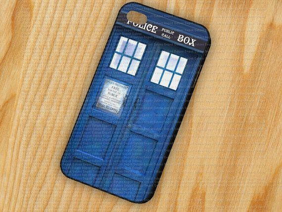 Blue Police Call Box Tardis Dr Who iPhone 5 iPhone by DepotSukses, $14.79