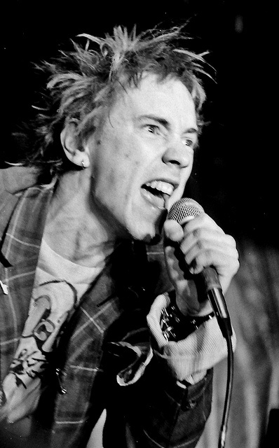 Johnny Rotten (The Sex Pistols)