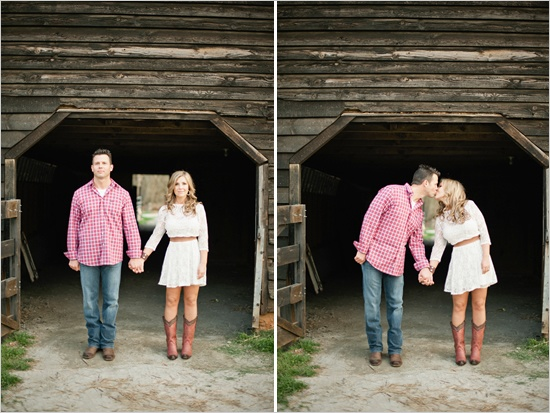 country engagment photos