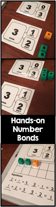 Math Coach's Corner: Introducing Number Bonds with Hands-On Experiences