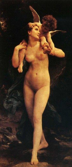 Το καλό με τον χρόνο και την πάροδό του είναι πως όλα αποκτούν την πραγματική τους αξία erina's   William-Adolphe Bouguereau - Venus and Cupid