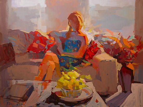 Carole's Lemons by Michael Steirnagle ~ x
