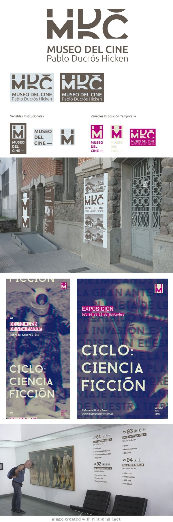 museo del cine / identidad on Behance