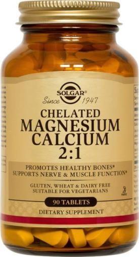 Chelated Magnesium Calcium 2:1 Tablets