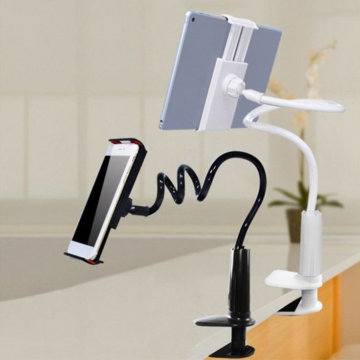 """Lazy Bed Desktop 360 Rotating Stand Holder Mount For Phone/Ipad 4""""-10.6"""" Lot Fe"""