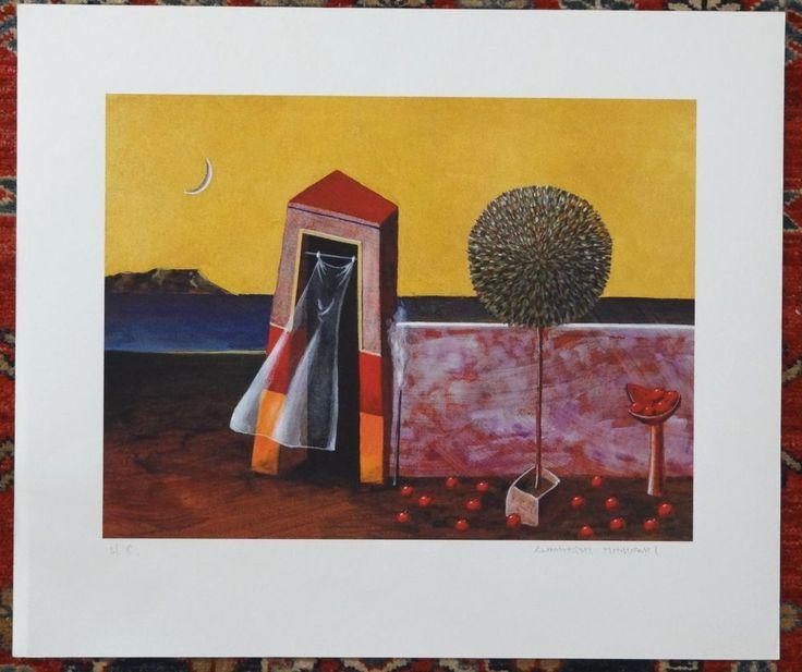 "Dimitris Milionis - ""H.C."" Signed Limited Edition - Pigment Ink Print - Greek #Surrealism"
