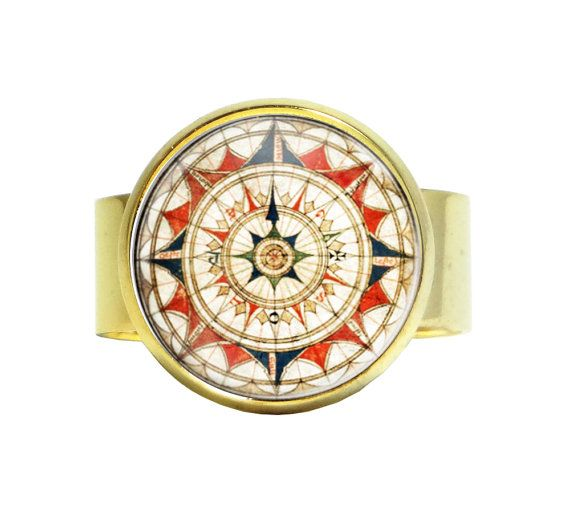 Aztec Ring Old Aztec World Ring Native American Inspired Ring