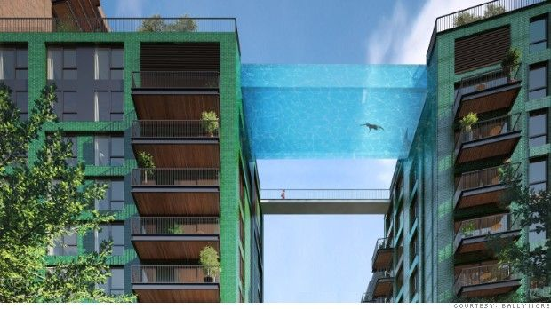 Sky swimming: Luxury London condo to get 'floating' pool