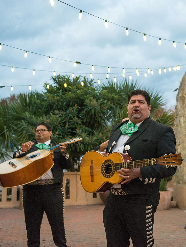 Incorporate a mariachi band into the wedding for Mexican-inspired music that is cultural, lively and totally suitable for serenading guests during cocktail hour.