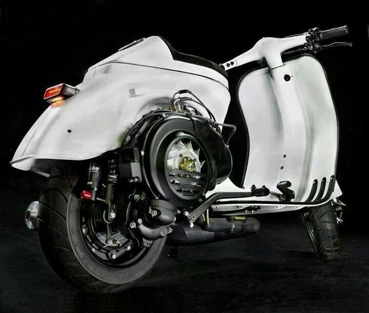 36 best vespa cafe racer images on pinterest vespas for Vespa cafe racer