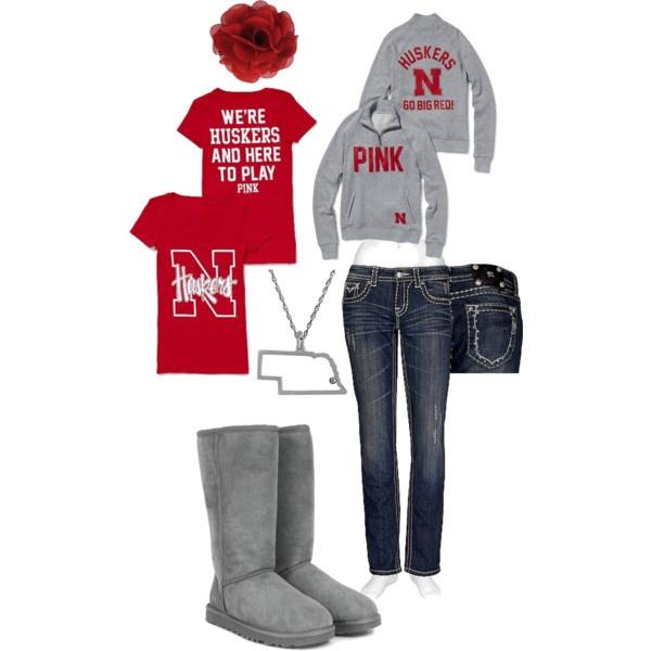 Outfit -- University of Nebraska Huskers