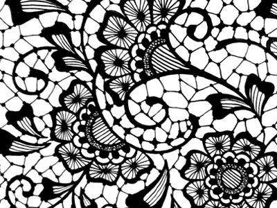 lace drawing pattern - photo #31