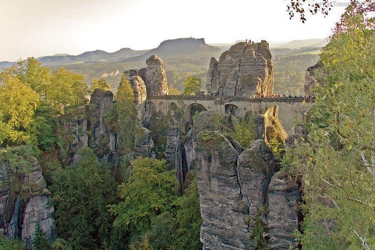 Bastei, near Dresden, Germany (Archetype)