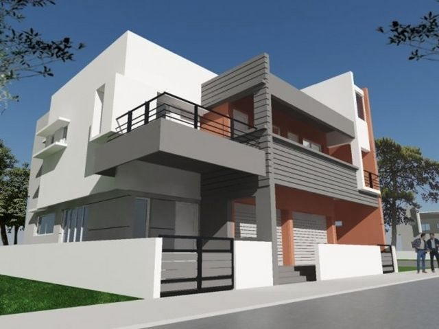 700 best dise o de casas e interiores images on pinterest for Kerala residential building elevations