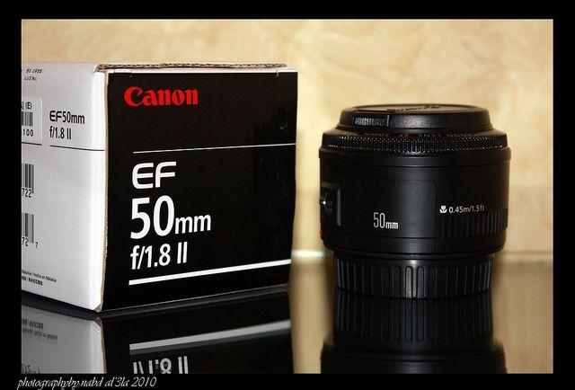 Canon 50mm 1.8II