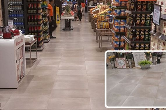 Supermarket Outlet in Tangerang, Indonesia | dPanama Collection