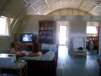 Small Kitchen Quonset Hut Home