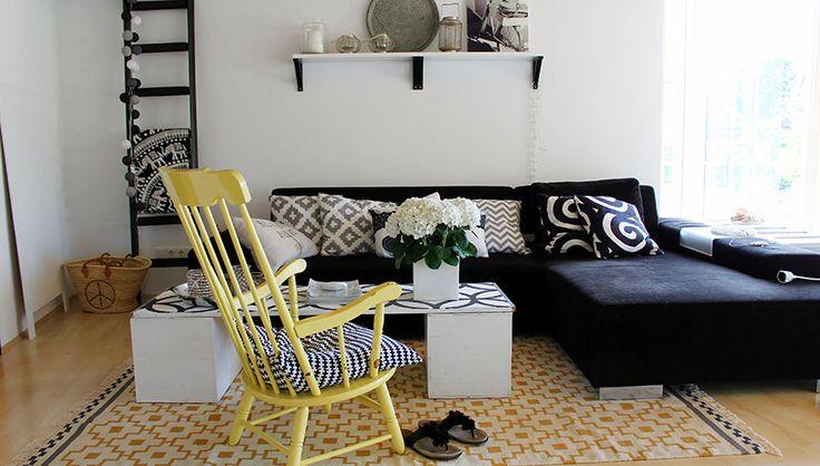 Wohnung einrichten mit Sperrmüll-Möbelstücken