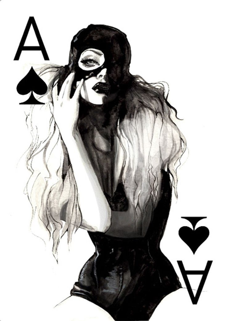 asylum-art: Women Playing Cards by Connie Lim ... | Black Realm