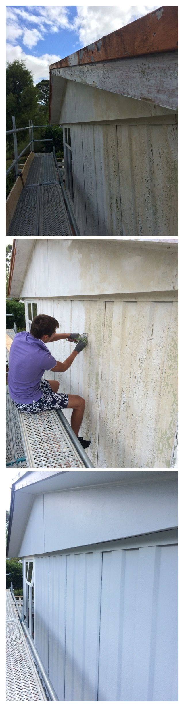 Painting amp remodeling contractors painters northern new jersey - Exterior House Painting Glenfield Auckland Painter North Shore