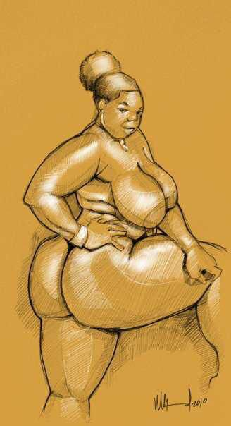 Black art black nude bbw