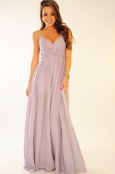 RESTOCK: Wherever Love Goes Dress: Lavender