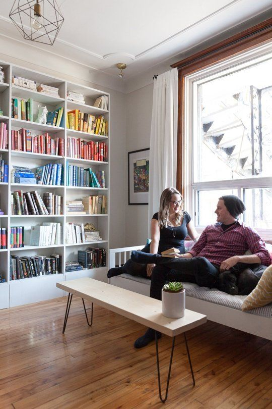 Savannah & Mike's Colorful, Slightly Edgy Montreal Rental — House Tour