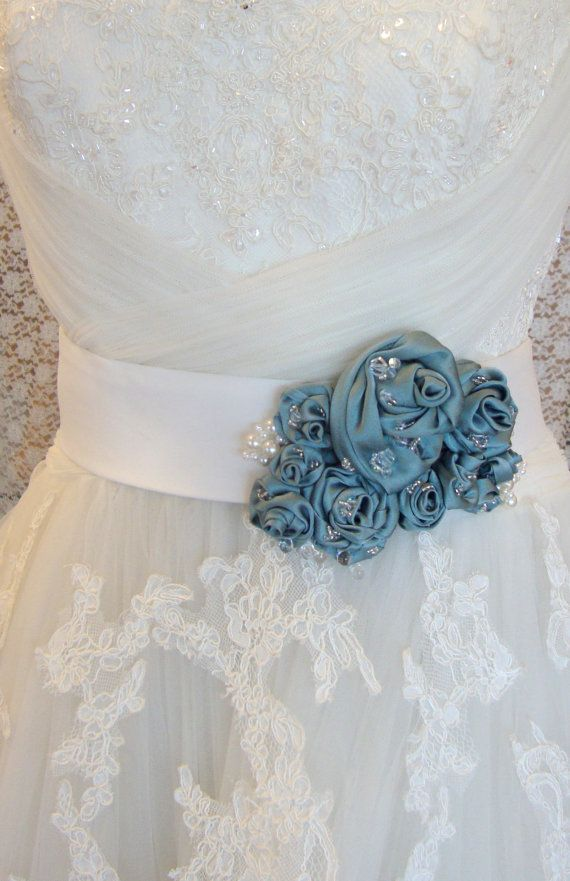 45 best Bridal Sashes images on Pinterest | Wedding ribbons, Wedding ...