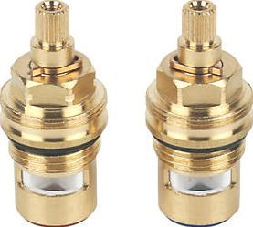 Bristan Tap Valves Pair 8367J Hot and cold valves suitable for basin taps. Revitalises taps without the need to buy full replacements. http://www.comparestoreprices.co.uk/january-2017-9/bristan-tap-valves-pair-8367j.asp