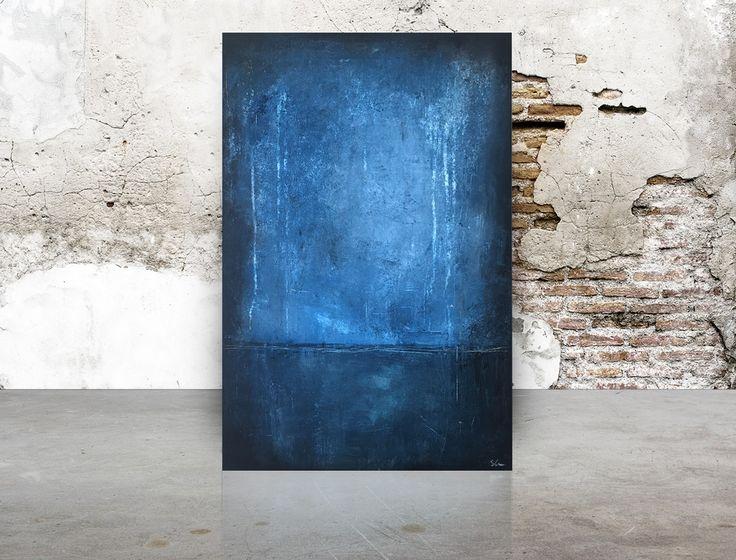 """""""Petit Bleu, 40x60x4 cm by Stellan Kristiansson"""