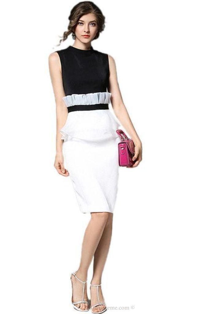 European Casual Sexy Slim Dresses | 81Supreme