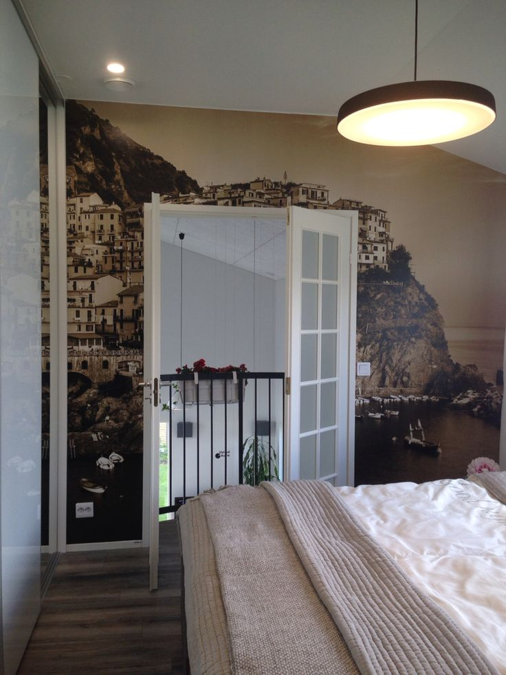 Balcony in the bedroom