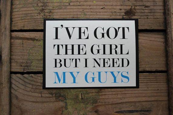 Tengo a la chica pero necesito mis chicos por PontoMountainPaper