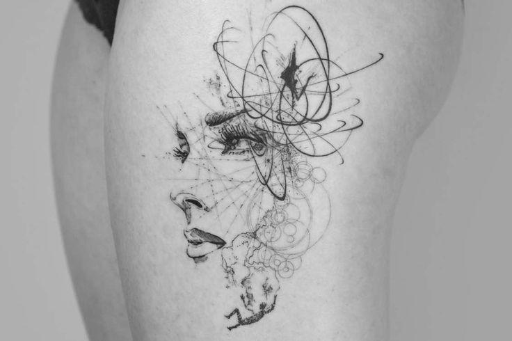 Une sélection des tatouages de Mowgli, un artiste anglais talentueuxqui mélange de nombreuses inspirations et techniques, du mandala géométrique au monde