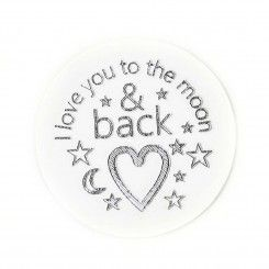 Engraved - I Love You to the Moon & Back Plate Only $13.00  check out www.lifelockets.com.au/withimmy  LIVE THE LIFE YOU LOVE