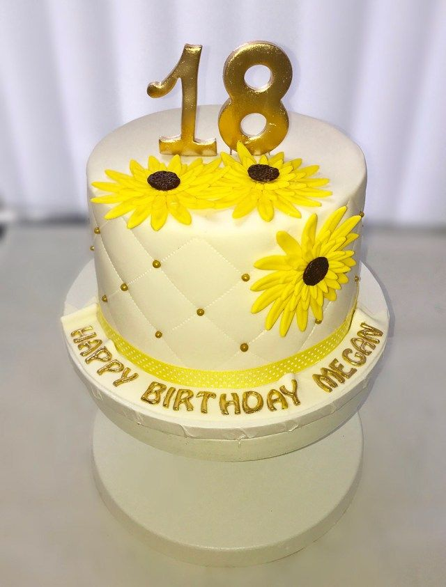 Incredible 30 Marvelous Photo Of Specialty Birthday Cakes Sunflower Personalised Birthday Cards Sponlily Jamesorg