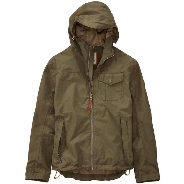 Timberland Men's Eisenhower Hooded Bomber Jacket ($77) ❤ liked on Polyvore featuring men's fashion, men's clothing, men's outerwear, men's jackets, capers, mens hooded bomber jacket, mens flight jacket, timberland mens jackets and mens jackets