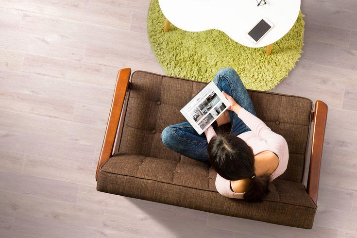 Santana Silentwood Comfort Plus: authentieke looks. #kurk #vloer